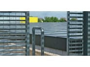 Screening electrically welded mesh Fence OPEN WING - GRIDIRON GRIGLIATI