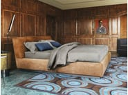 Double bed GENTLEMAN | Bed with upholstered headboard - Flou