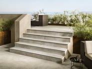 Porcelain stoneware outdoor floor tiles DUAL STEP - Ceramiche Caesar