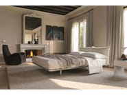Double bed with upholstered headboard PLATZ | Bed - Désirée