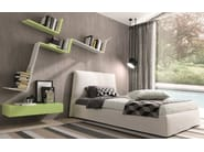 Wooden wall shelf ZEDLINE - Euromobil