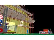 2D & 3D CAD technical design BlumatiCAD Ponteggi - Blumatica