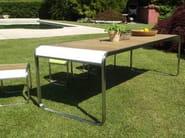 Garden table WAVE - Lgtek Outdoor