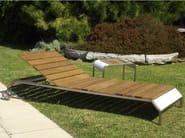 Recliner garden daybed TRAK LIGHT - Lgtek Outdoor