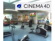 3D modeling, rendering and animation CINEMA 4D - Allplan Italia