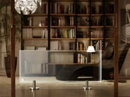 Floor-standing electric glass radiator THERMOGLANCE ® | Floor-standing radiator - Asola Vetro