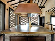 Kitchen with island DAVANZATI PALACE - Officine Gullo