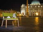 Fabric guest chair PORTA VENEZIA | Easy chair - Infiniti
