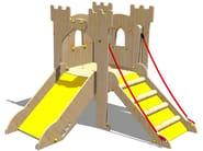 Wooden Play structure TORRE LANCILLOTTO - Legnolandia