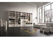 Open lacquered bookcase SPEED A - Dall'Agnese