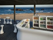 Polyethylene bar cabinet BARTOLOMEO DISPLAY - PLUST Collection by euro3plast