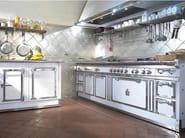 Kitchen with peninsula PITTI PALACE - Officine Gullo