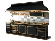 Linear custom kitchen BAGATTI PALACE - Officine Gullo