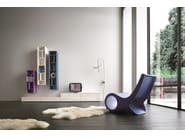 Sectional TV wall system SLIM 4 - Dall'Agnese