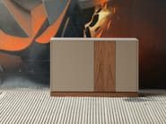 Lacquered sideboard with doors CONTOUR-125 - DOMITALIA