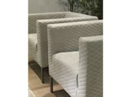 Club armchair with armrests KIRA - Giulio Marelli Italia