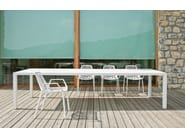 Stackable aluminium garden chair RION | Stackable chair - FAST