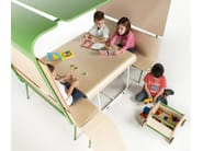 Multi-layer wood kids table OTTAWA | Kids table - Made Design Barcelona