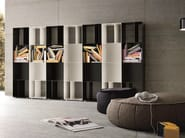 Open modular plate bookcase METAL | Modular bookcase - Dall'Agnese