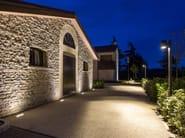 LED tiltable Floor Light TETRA INCASSO 360 | LED Built-in lighting - Platek