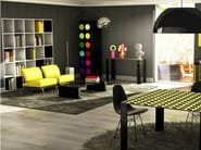 Open aluminium bookcase SHAKESPEARE AND COMPANY - altreforme