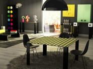 Square aluminium table COCO | Table - altreforme
