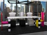 High-back aluminium chair SALVADOR - altreforme