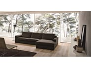 3 seater leather sofa CITY - Dall'Agnese