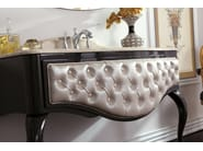 Tufted console sink with drawers GLAM 02 - LEGNOBAGNO