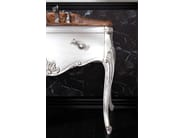Lacquered vanity unit with drawers VANITY INTAGLIATO 01 - LEGNOBAGNO