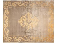 Contemporary style custom handmade rectangular rug AMIRAL SHADOW VINTAGE AUTUMN - EDITION BOUGAINVILLE