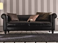 Deco 3 seater leather sofa DECÒ | 3 seater sofa - Dall'Agnese