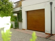 Galvanized steel garage door CPS RL42   Garage door - BREMET CHIUSURE TECNICHE