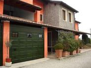 Galvanized steel sectional door VNS RL42 | Garage door - BREMET CHIUSURE TECNICHE