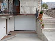Galvanized steel sectional door ANS RL42 | Garage door - BREMET CHIUSURE TECNICHE