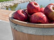 Rustic style wooden fruit bowl CATÌ | Fruit bowl - Minacciolo
