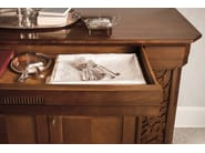 Walnut sideboard with doors TIFFANY | Walnut sideboard - Dall'Agnese