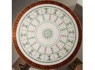Classic style round rosewood table MG 1024 - OAK Industria Arredamenti