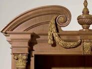 Open oak bookcase MG 1110/ROV - OAK Industria Arredamenti