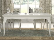 Lacquered rectangular table SYMFONIA | Lacquered table - Dall'Agnese