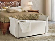 Upholstered fabric bench SYMFONIA | Upholstered bench - Dall'Agnese
