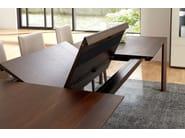 Extending wooden table ET 1900 | Dining table - Hülsta-Werke Hüls