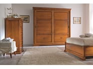 Cherry wood wardrobe with sliding doors BOHEMIA | Wardrobe with sliding doors - Dall'Agnese