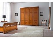 Cherry wood wardrobe BOHEMIA | Wardrobe - Dall'Agnese