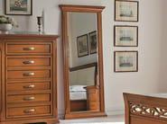 Framed cherry wood mirror BOHEMIA | Mirror - Dall'Agnese