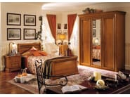 Cherry wood single bed CHOPIN   Single bed - Dall'Agnese