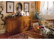 Cherry wood sideboard with doors with drawers CHOPIN | Sideboard with drawers - Dall'Agnese
