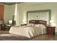 Cherry wood double bed VENEZIA | Hotel bed - Dall'Agnese