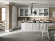 Wooden kitchen with island NUOVO MONDO N01 - Scandola Mobili