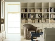 Spruce bookcase with drawers NUOVO MONDO N03 | Bookcase - Scandola Mobili